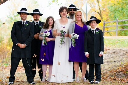 Wedding Party Attire - South St. Paul Wedding In October in South Saint Paul, MN