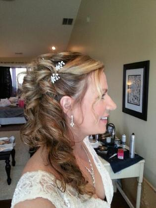 Hairstyles - Wendy and Bryan's Wedding in 22827, VA 22827, USA