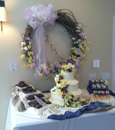 Cakes and Desserts - Wendy and Bryan's Wedding in 22827, VA 22827, USA