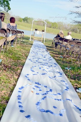 We used Shady Lakes Ranch for our ceremony and reception site.  The day was perfect and they were sweet enough to let us decorate the day before and finish cleaning up the morning after. The Ceremony - Crysta and Travis's Wedding in Cleburne, TX, USA