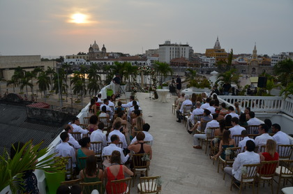 The Ceremony - Cartagena boda in Cartagena, Bolivar, Colombia