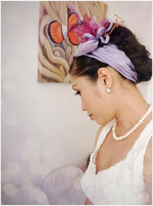 Hairstyles - Rachelle and Fryan's Wedding in Roxas City, Philippines