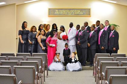 Wedding Party Attire - CHARISMA and WILLIE's Wedding in Perry, GA, USA