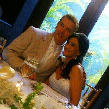 The Newlyweds - David Blyskal and Virginia Acevedo  in San Juan, Puerto Rico