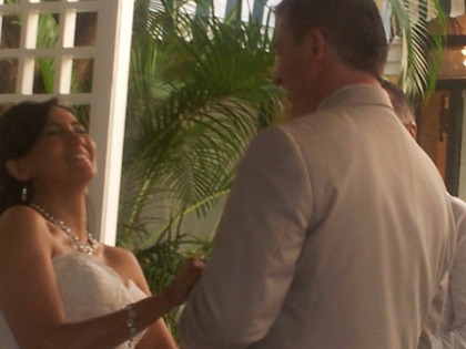 The Ceremony - David Blyskal and Virginia Acevedo  in San Juan, Puerto Rico