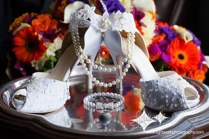 Flowers and Decor, Jewelry - Heather and Raymond's Wedding in Chadds Ford, PA, USA
