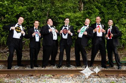Wedding Party Attire - Heather and Raymond's Wedding in Chadds Ford, PA, USA