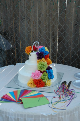 The cake! Cakes and Desserts - latoya and cyndia's Wedding in San Antonio, TX, USA