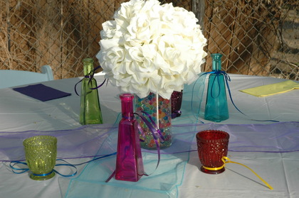 Centerpieces and favors The Favors - latoya and cyndia's Wedding in San Antonio, TX, USA
