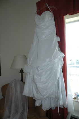 My gorgeous dress! The Wedding Dress - latoya and cyndia's Wedding in San Antonio, TX, USA