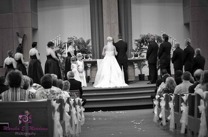 The Ceremony - Our Wedding in Lincoln, NE, USA