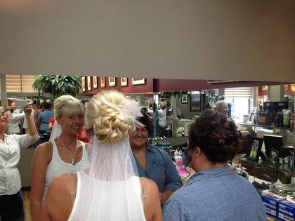 Hairstyles - Our Wedding in Lincoln, NE, USA