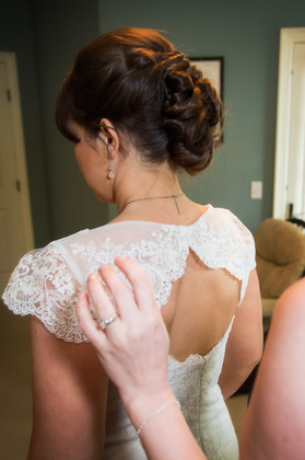 Hairstyles - Courtney and Josh's Wedding in Bluffton, SC, USA