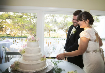 Cakes and Desserts - Courtney and Josh's Wedding in Bluffton, SC, USA