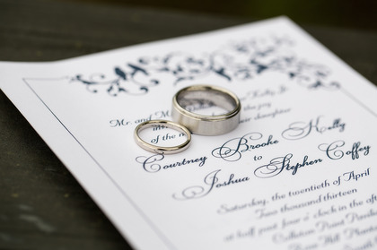 The Invitations - Courtney and Josh's Wedding in Bluffton, SC, USA