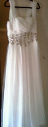 """The Wedding Dress - Tom & Stephanie """"Bokiya"""" Ceremony in Reston, VA, USA"""