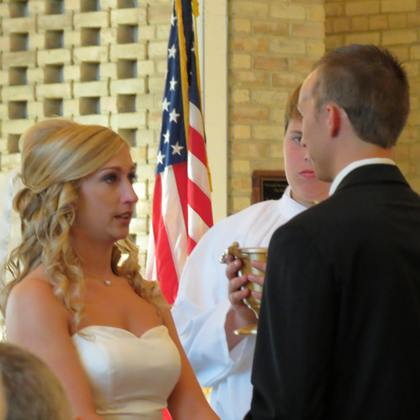 The Ceremony - Anne and Tony's Wedding in Orland Park, IL, USA