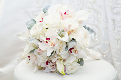 Brides Bouquet; MP Flowers, Mount Prospect, IL Flowers and Decor - Tinley Park Wedding In July in Tinley Park, IL, USA