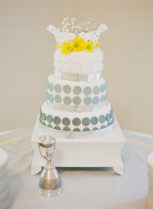 Cake by Brigitte Franklin (bride) and Paige Emenheiser (maid of honor) Cakes and Desserts - Tallahassee Wedding In July in Tallahassee, FL, USA
