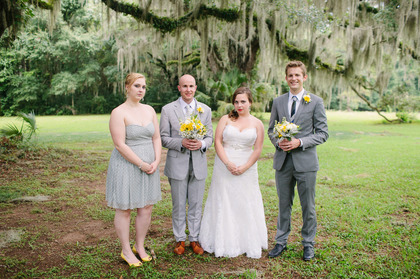 Bride - Vocelles Maid of Honor - JCrew Groom - elitesuites.com (hand tailored) Best Man - Nordstrom Wedding Party Attire - Tallahassee Wedding In July in Tallahassee, FL, USA