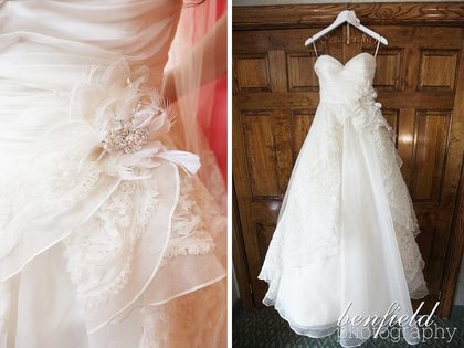 Jim Hjelm Dress The Wedding Dress - Trent and Lauren's Wedding in Clayton, MO, USA