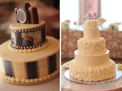 Cakes and Desserts - Trent and Lauren's Wedding in Clayton, MO, USA