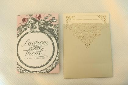 The Invitations - Trent and Lauren's Wedding in Clayton, MO, USA