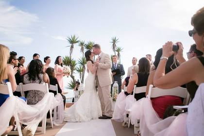 San Clemente Wedding In August in San Clemente, CA, USA