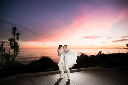 The Newlyweds - San Clement Wedding In August in San Clemente, CA, USA