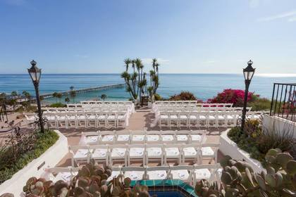 The Ceremony - San Clement Wedding In August in San Clemente, CA, USA