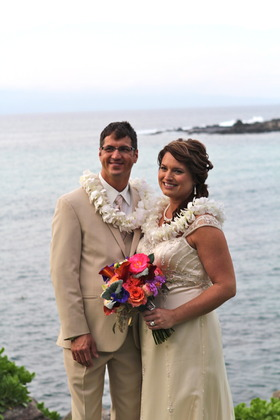 Jody and Chad Wedding in Wailuku, HI, USA