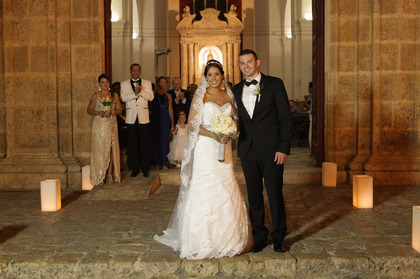 Shirley and Paul's Wedding in Cartagena, Bolivar, Colombia