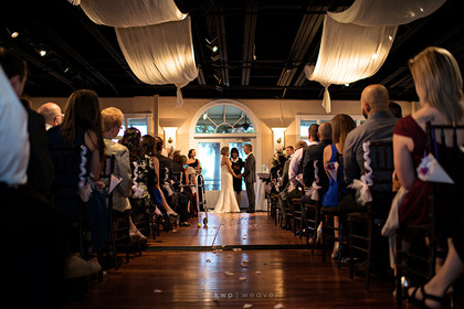 The Ceremony - St. Augustine Wedding In November in St. Augustine, FL, USA