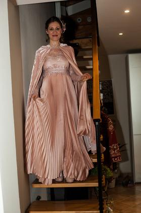 My loved dress created by Ermetique (Erminia Caputo) The Wedding Dress - Pieve Di Cento Itali Wedding In December in San Francisco, CA, USA