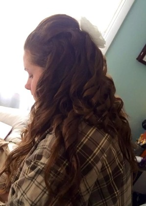 Hairstyles - Laci and Drew's Wedding in wall,nj