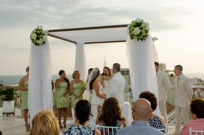 The Ceremony - Katherine and Anthony 's Wedding in Cartagena, Bolivar, Colombia