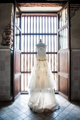 The Wedding Dress - Katherine and Anthony 's Wedding in Cartagena, Bolivar, Colombia
