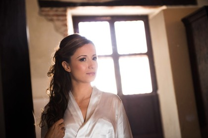 Hairstyles - Katherine and Anthony 's Wedding in Cartagena, Bolivar, Colombia
