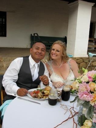 Mr. and Mrs. Rios The Newlyweds - Roberto and Christina's Wedding in Santa Barbara, CA, USA