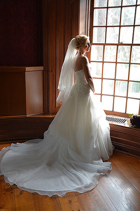 The Wedding Dress - Gina and Jacob's Wedding in leroy, new york