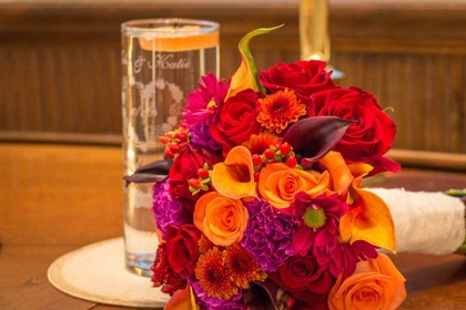 Flowers and Decor - Katie and John's Wedding in Royal Oak, MI, USA