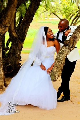 The Newlyweds - Lawrence and Kabelo in Mmakaunyane, South Africa