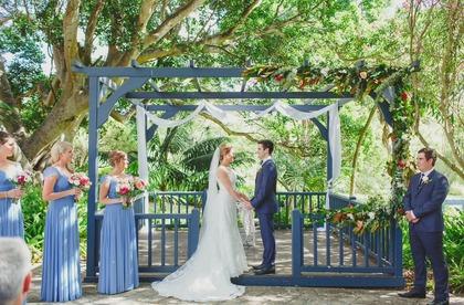 The Ceremony - Yallingup Wedding In February in Yallingup, WA, Asutralia