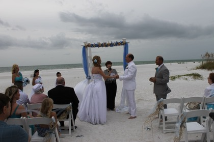 The Ceremony - Kevin & Karen's Wedding in Anna Maria, FL, USA