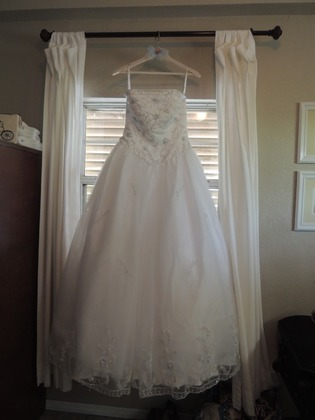 The Wedding Dress - Kevin & Karen's Wedding in Anna Maria, FL, USA