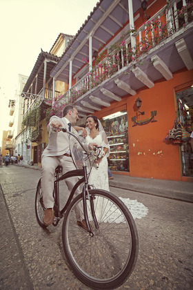The Newlyweds - Anabell and Andre's Wedding in Cartagena, Bolivar, Colombia