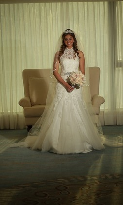 The Wedding Dress - Maria and Ospitia's Wedding in Cartagena, Bolivar, Colombia