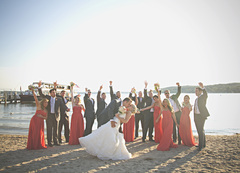 Lake Geneva Wedding In September in Elkhorn, WI, USA
