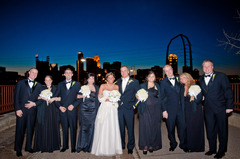 Minneapolis Wedding In January in Edina, MN, USA