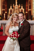 Dyersville Wedding In July in Peosta, IA, USA